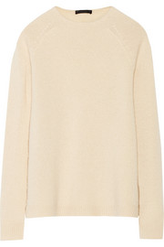 Eban cashmere and silk-blend sweater
