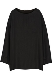 The Row Lyba oversized jersey top