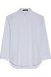 Petra stretch-cotton poplin shirt