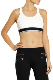 + Cara Delevingne stretch-jersey sports bra