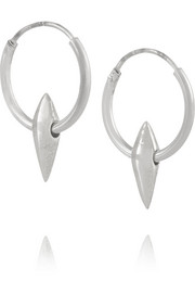 Wendy Nichol Sterling silver hoop earrings