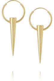 Wendy Nichol 14-karat gold earrings