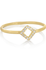 Wendy Nichol 18-karat gold diamond ring
