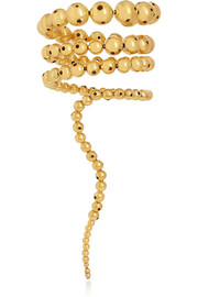 Nereus gold-plated bracelet