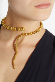 Paula Mendoza Glaucus gold-plated necklace