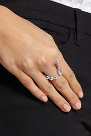 Adriane silver-plated ring