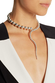 Paula Mendoza Glaucus silver-plated necklace