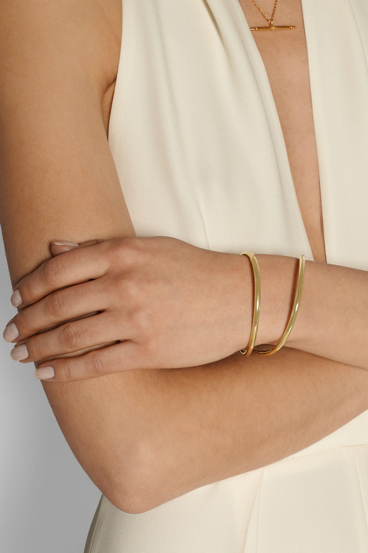 Anndra Neen Comet gold-tone cuff
