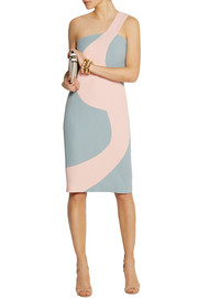 Alexander Lewis Birdie wool-crepe dress