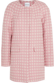 Jasmine cotton-jacquard coat