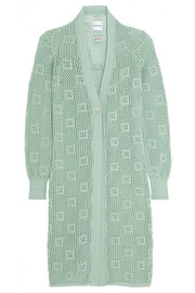 Alexander Lewis Groupie open-knit cotton cardigan