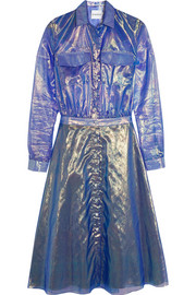 Alexander Lewis Suncrest organza shirt dress