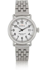 Runwell stainless steel watch