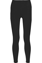 Lisa Marie Fernandez Karlie paneled stretch-jersey leggings
