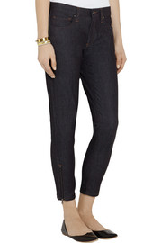 Victoria Beckham Denim Cropped mid-rise skinny jeans