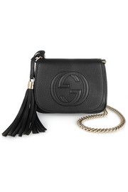 Soho small textured-leather shoulder bag