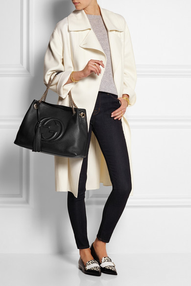 2295e625c23 Soho medium textured-leather shoulder bag