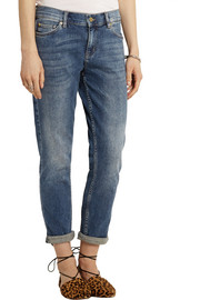 MiH Jeans The Tomboy mid-rise slim boyfriend jeans