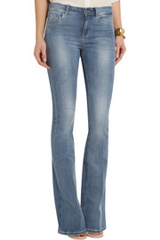 MiH Jeans The Bodycon Flare mid-rise jeans