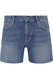 Phoebe mid-rise denim shorts