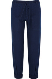 Sonoran cotton-twill straight-leg pants