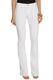 MiH Jeans The Skinny Marrakesh mid-rise flared jeans