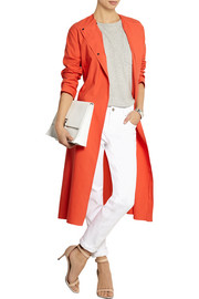 Cédric Charlier Cotton-gabardine trench coat