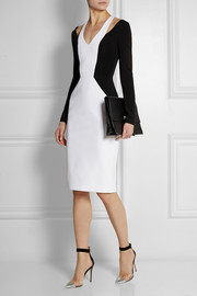 Cushnie et Ochs Cutout jersey-crepe dress