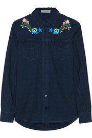 Nevada embroidered chambray shirt