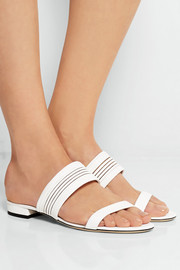Diane von Furstenberg Flavia leather sandals