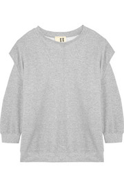 + Slow and Steady Wins the Race cotton-blend sweatshirt