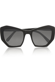 Brasilia cat eye acetate sunglasses