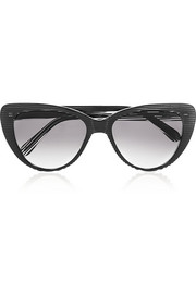 Capri cat eye acetate sunglasses
