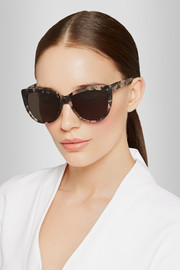 Moscow cat eye acetate sunglasses
