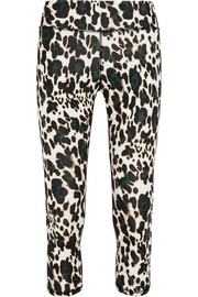 The Upside Leopard-print stretch-jersey leggings