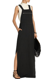 Finds + NOMIA twill maxi dress