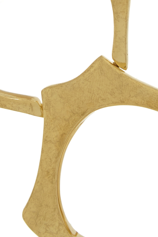 Alexander McQueen Gold-plated bracelet