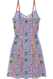 Mary Katrantzou Embroidered tulle dress