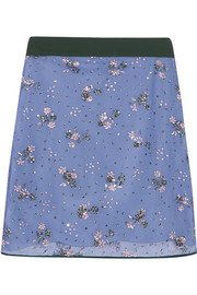 Mary Katrantzou Glitter-embellished tulle skirt
