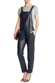 Richard Nicoll Leather overalls