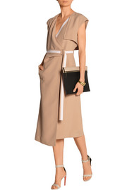Richard Nicoll Crepe wrap dress