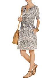 Tory Burch Polly embroidered cotton dress