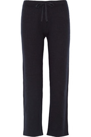 Tory Burch Roxanna cotton-blend straight-leg pants