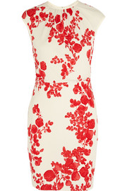 Lydia floral-print stretch-jersey dress