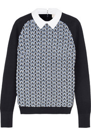 Tory Burch Carmine crocheted cotton sweater