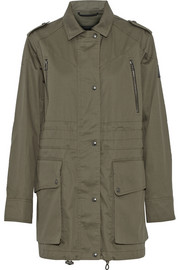Fadden coated cotton parka