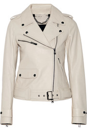 Watson leather biker jacket