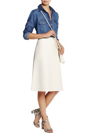 Julianna stretch-jersey skirt