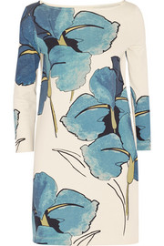 Tory Burch Bonnie floral-print Pima cotton-jersey dress