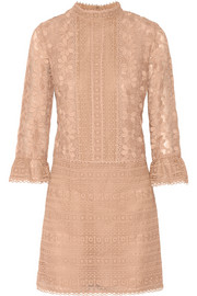 Anna Sui Embroidered organza dress